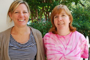 2nd grade teachers Dawn Harris & Leslie Kass
