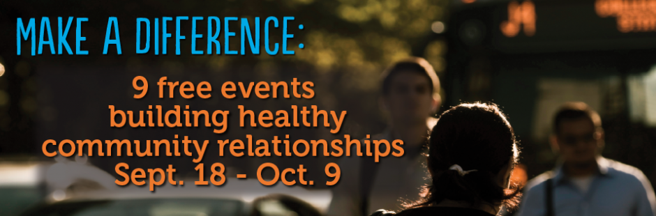 Building Healthy Community Relationships