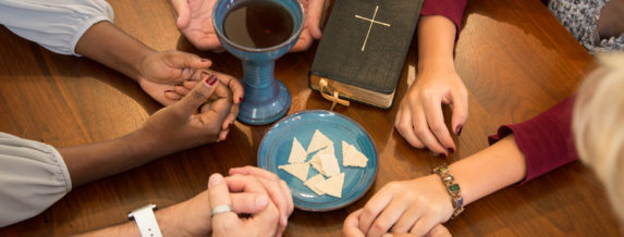 Celebrating Communion in a small group