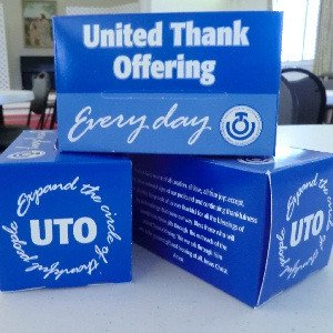 United Thank Offering donation boxes