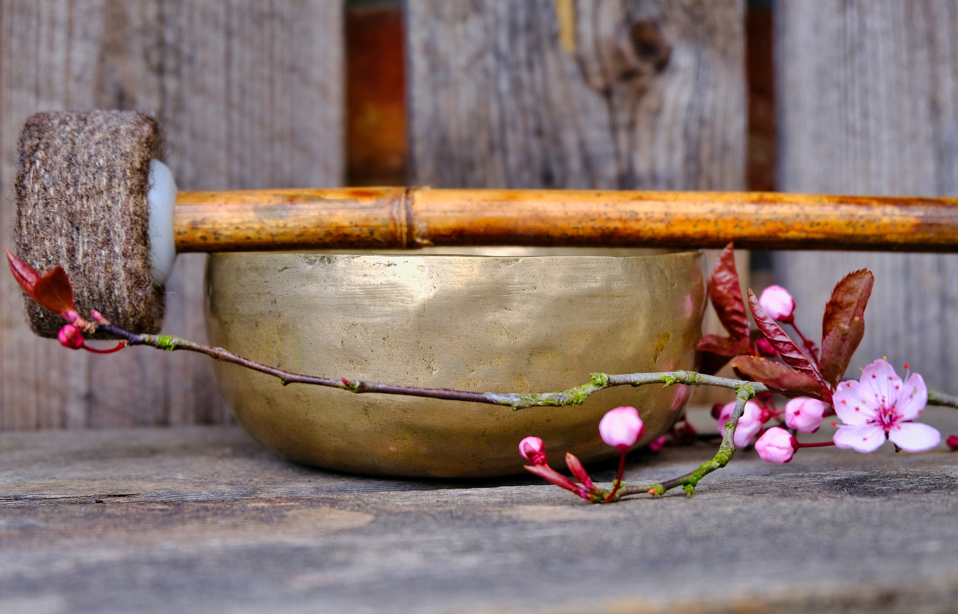 Singing Bowl and Mallet