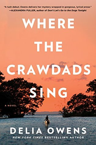 "Cover of ""Where the Crawdads Sing"" by Delia Owens"